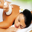 Rose aromatherapy massage