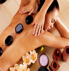 Rose hot stone massage gallery