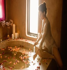 Rose moroccan bath massage gallery