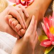 Rose reflexology massage